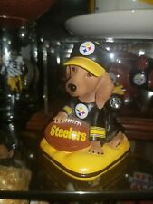 Pittsburgh Steelers hamilton collection Sunday Afternoon Quarter-Bark Dog statue