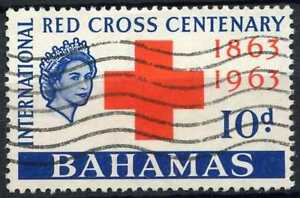 Bahamas 1963 SG#227, 10d Red Cross Centenary Used #D82678