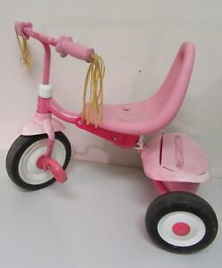 """Radio Flyer Pink Ready to Ride Folding Trike Tricycle 21"""" Long x 16"""" Wide"""