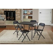 Card Table And Chairs Folding Board Game Tables Set For Adults Kids Square Small