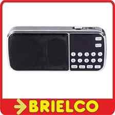 RADIO DIGITAL RECARGABLE CON ALTAVOZ FM MP3 USB MICRO SD LINTERNA LED BD9373