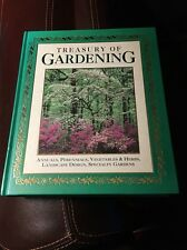 Treasury of Gardening by Ambler (1994 Hardcover) Annuals, Veggies, Herbs, design