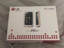 LG Bliss cellphone-US Cellular-MOdel ux700 white-NIB