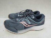 WOMENS SAUCONY EVERUN MNI ISO 2 BLUE WHITE PINK RUNNING SHOES SIZE 10.5W Y947