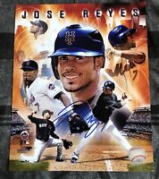 Jose Reyes Signed 8x10 Photo Autographed Auto New York Mets Photo File