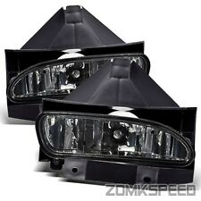 Fits 99-04 Ford Mustang Cobra Style Smoke Crystal Fog Lights Bumper Driving Lamp