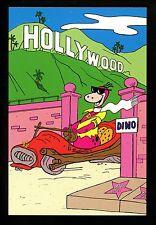 Comic postcard Cartoon Flinstones Hanna Barbera Hollywood Corvette Rockvette