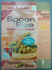 1970's Nabisco Spoon Size Shredded NFL Offers Wheat Box