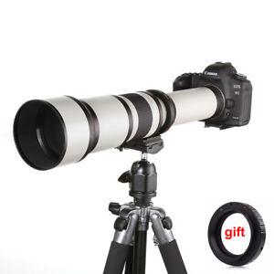 650-1300mm Super Telephoto Zoom Lens for Canon Nikon Sony Olympus M43 PK Camera