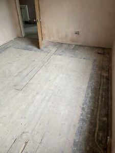 Reclaimed victorian Edwardian floorboards