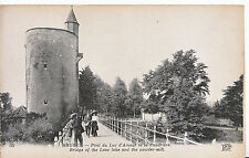 Belgium Postcard - Bruges - Bridge of The Love Lake and The Powder Mill   ZZ3754
