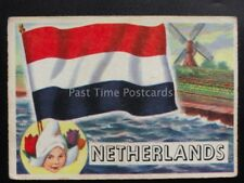 No.76 NETHERLANDS Flags of The World - A.& B.C. Gum 1959