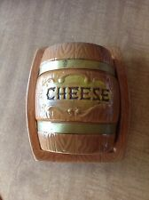 Lipper and Mann Creations Barrel Style Covered Cheese Dish Japan