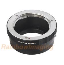 Minolta MD lens to M43 MFT Adapter Ring Olympus OM-D E-M1 E-M5 E-M10 Mark II III
