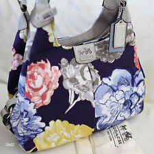 NWT COACH MADISON MAGGIE MULTI FLORAL ROSE FLOWER TOTE SHOULDER BAG PURSE NEW