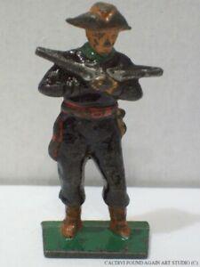 Vintage Grey Iron G75 Pirate Chief Figure Dimestore Soldier Toy Treasure Island