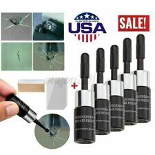 5Pcs Automotive Glass Nano Repair Fluid Car Windshield Resin Chip Crack Tool Kit