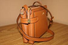 Lauren Ralph Lauren Women's Handbag/ Cross body/Purse Tan Crawley Double Zip NWT