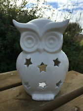 Owl - Lovely When Lit Up (uses tea lights) - ! Clearance Sale ! Offer!