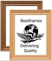 Traditional Swept Ornate Wood Effect Picture Frame Various Size Best Photo Frame