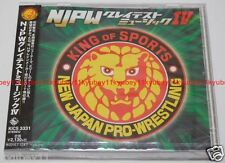New Japan Pro-Wrestling NJPW Greatest Music IV 4 CD F/S KICS-3331 4988003481490
