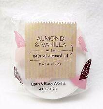 1 Bath & Body Works ALMOND & VANILLA Bath Fizzy Shower Bomb Fizz Soak 4 oz