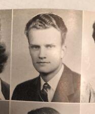Billy Graham 1944 Senior Yearbook Wheaton Illinois College Ruth Graham