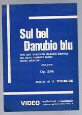 sul bel danubio blu - valze di strauss