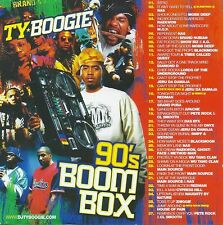 90's BOOM BOX OLD SCHOOL HIP-HOP & RAP MIX CD