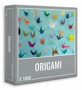 Origami– Cool, 1000-piece Jigsaw Puzzle for Grown Ups!