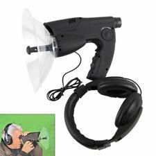 Parabolic Microphone Spy Listening Device Bionic Ear Sound Amplifier Gadget 100m