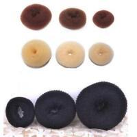 Hot Magic Blonde Donut Women Hair Ring Bun Former Shaper Hair Styler Maker Tools