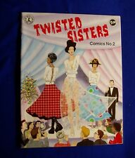 Twisted Sisters 2. Underground comics by women, Fantagraphics. 1st.  VFN-.