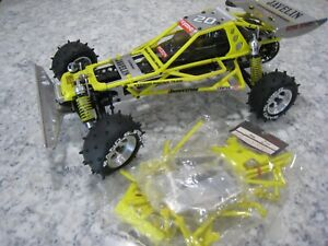 VINTAGE Kyosho Yellow Javelin roll cage OT-63Y body set