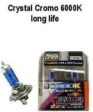 KIT LAMPADINE LED CRYSTAL CROMO H7 12V 2pcs. 6000K long life