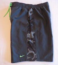 Men's NIKE Size S Small Gray Camo Camouflage Swim Shorts Trunks $58