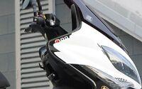 2 ADESIVI GEL 3D PROTEZIONE SPIGOLI compatibili per Kymco XCITING 400 2012-2017