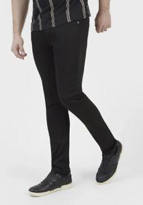 New Mens Mish Mash Lot XX 1950 Flex Black Jeans W30 L32 £34.99 OrbestOfferRRP£90