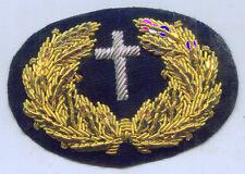 Chaplain Priest Church Officer Uniform Union Rank Army Cap Badge Service War ID