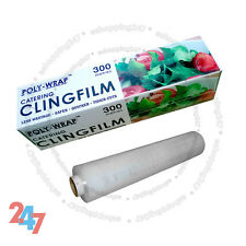 Cling Film Kitchen Professional Catering Packs Food Wrap Wrapping 300mm x 300m