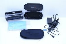 Sony PlayStation Portable  Black PSP-1001 w/ Case, Cover, Charger