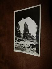 Tuck real photo Postcard -Needle rock from cave - Plemont Jersey Channel Islands