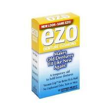 NEW Ezo Denture Cushions Upper Heavy - 12 Ea (1 Pack)