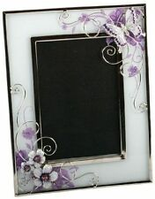 Floral Garden Glass Photo & Picture Frames