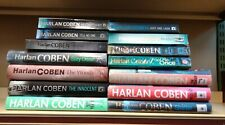 Harlan Coben: job lot box collection of 14 adult fiction books