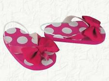 Doll Clothes Flip Flops Polka Dot Pink Fit 18 inch American Girl