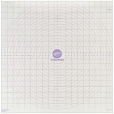 "Wilton Roll And Cut Mat Fondant Dough Measured Grid Cutting Board 20 X 20"" New"
