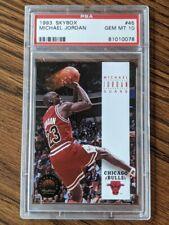1993 Skybox Premium Michael Jordan #45 PSA 10 Gem Mint Chicago Bulls