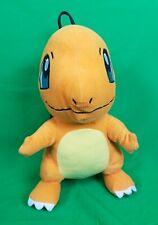 "NICE 15"" Nintendo Plush Charmander POKEMON Backpack Orange Charizard Kids"