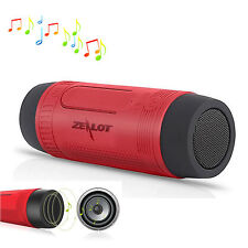 Red Bluetooth Speaker Power Bank Handsfree For iPhone 7 7 Plus 6S LG G2 G3 G4 K7